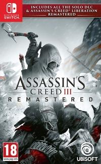 Assassin's Creed III Remastered Box Art