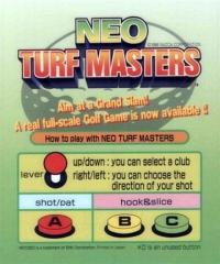 Neo Turf Masters Box Art