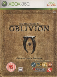 Elder Scrolls IV, The: Oblivion - Collector's Edition Box Art