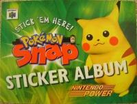 Nintendo Power Pokémon Snap Sticker Album Box Art