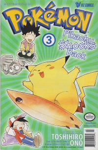 Pokémon: Pikachu Shocks Back #3 Box Art