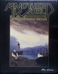 Another World: 20th Anniversary Edition - Classic Edition Box Art