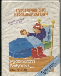 Paddington's Early Visit Box Art