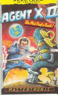 Agent X II Box Art