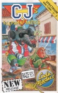 CJ's Elephant Antics Box Art