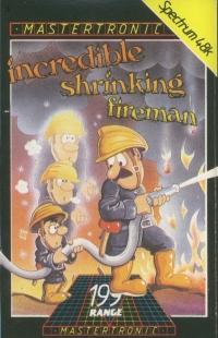 Incredible Shrinking Fireman Box Art