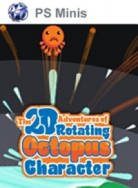2D Adventures of Rotating Octopus Character, The Box Art