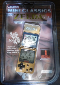 Nintendo Mini Classics: Zelda Box Art