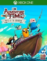 Adventure Time: Pirates of the Enchiridion Box Art