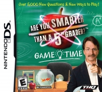 Are You Smarter Than A 5th Grader? Game Time Box Art