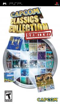 Capcom Classics Collection: Remixed Box Art