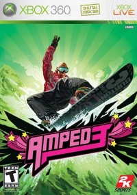 Amped 3 Box Art