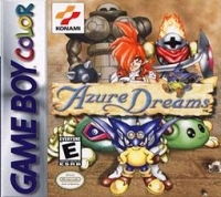 Azure Dreams Box Art