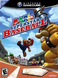 Mario Superstar Baseball Box Art