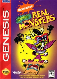 Aaahh!!! Real Monsters Box Art