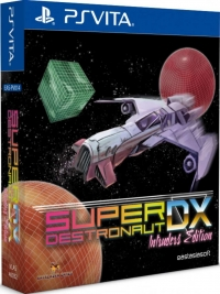 Super Destronaut DX - Intruders Edition Box Art