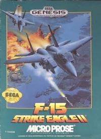 F-15 Strike Eagle II (cardboard box) Box Art