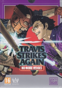 Travis Strikes Again: No More Heroes - Limited Collector's Edition Box Art