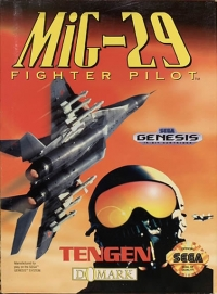 MiG-29 Fighter Pilot (cardboard box) Box Art