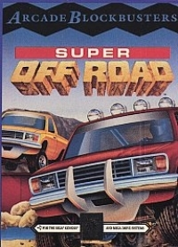 Super Off Road (licensed) Box Art