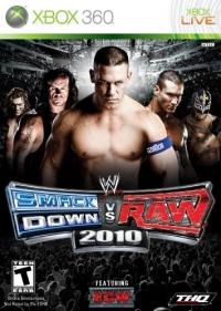 WWE Smackdown vs. Raw 2010 Box Art