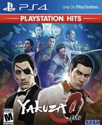 Yakuza 0 - PlayStation Hits Box Art