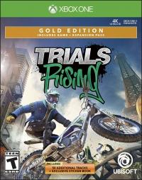 Trials Rising - Gold Edition Box Art