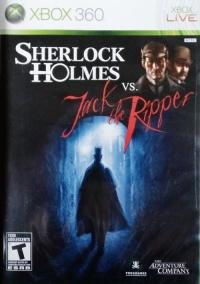 Sherlock Holmes vs. Jack the Ripper Box Art