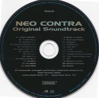 Neo Contra Original Soundtrack (Pre-Order Item) Box Art