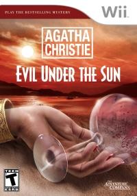 Agatha Christie: Evil Under the Sun Box Art