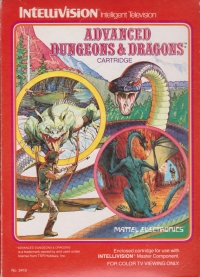Advanced Dungeons & Dragons (red label) [IT] Box Art