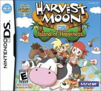Harvest Moon DS: Island of Happiness Box Art
