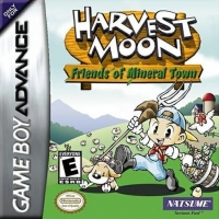 Harvest Moon: Friends of Mineral Town Box Art