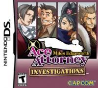 Ace Attorney Investigations: Miles Edgeworth Box Art