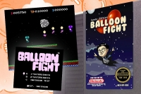 Balloon Fight, Iwata Edition Box Art