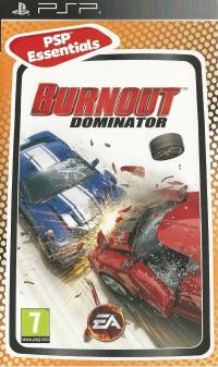 Burnout Dominator - PSP Essentials Box Art