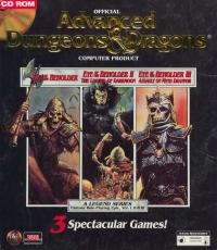 Eye of the Beholder / Eye of the Beholder II: The Legend of Darkmoon / Eye of the Beholder III: Assault on Myth Drannor Box Art
