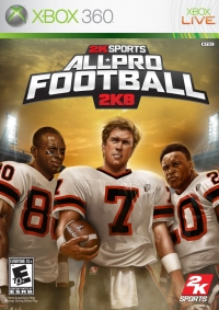 All-Pro Football 2K8 Box Art