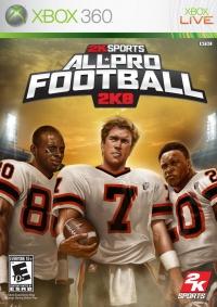 All-Pro Football 2K8 Box Art