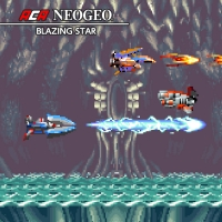 ACA NeoGeo: Blazing Star Box Art