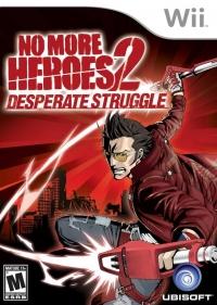 No More Heroes 2: Desperate Struggle Box Art