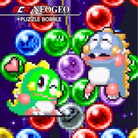 ACA NeoGeo Puzzle Bobble Box Art