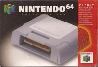 Nintendo 64 Controller Pak Box Art