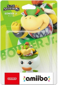 Bowser Jr. - Super Smash Bros. (red Nintendo logo) Box Art