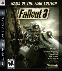 Fallout 3 - Game of the Year Edition Box Art