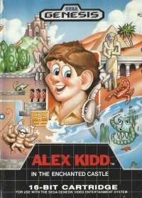 Alex Kidd in the Enchanted Castle [CA] Box Art