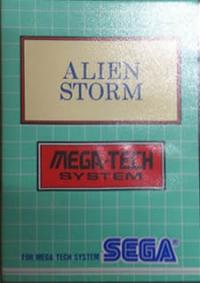 Sega Mega-Tech System - Alien Storm Box Art