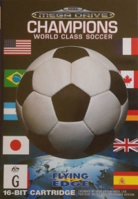 Champions World Class Soccer Box Art