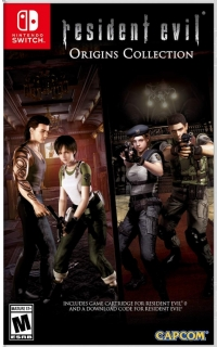 Resident Evil: Origins Collection Box Art