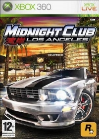Midnight Club: Los Angeles [DK][FI][NO][SE] Box Art